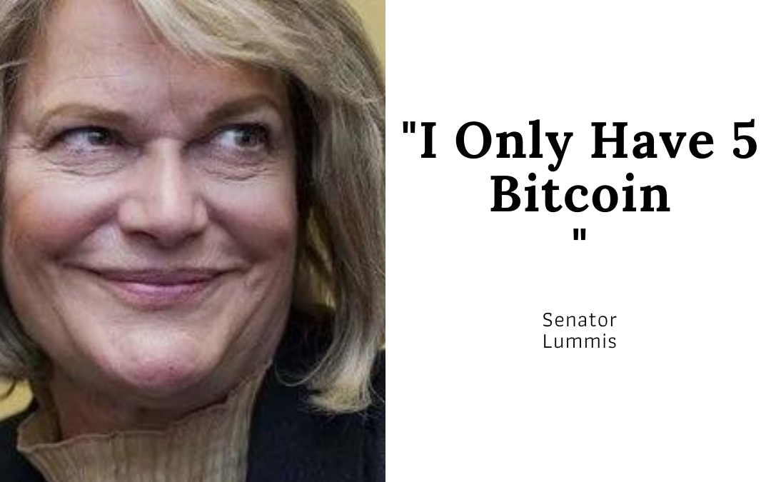 I Only Have 5 Bitcoin, Senator Lummis Encourages People to Buy and Hold BTC
